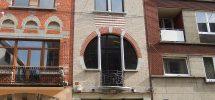 CHARLEROI-superbe immeuble rénové ,pour commerce ou pro.lib.+habitation