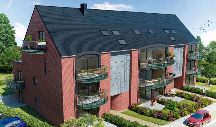 VENDU !!! RANSART-24 appartements et 11 maisons